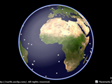 ScreenShot Image : The Whole Globe - 3D Earth viewer application for Microsoft .NET Framework for Silverlight